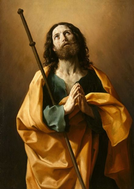 Reni, Guido: Saint James the Greater. Fine Art Print/Poster. Sizes: A4/A3/A2/A1 (002109)